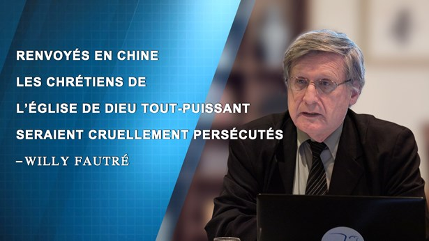 Willy Fautré:Renvoyés en Chine, les chrétiens de l'EDTP seraient cruellement persécutés