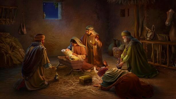 Le Seigneur Jésus est né grâce à l'amour de Dieu et à Son salut de l'humanité