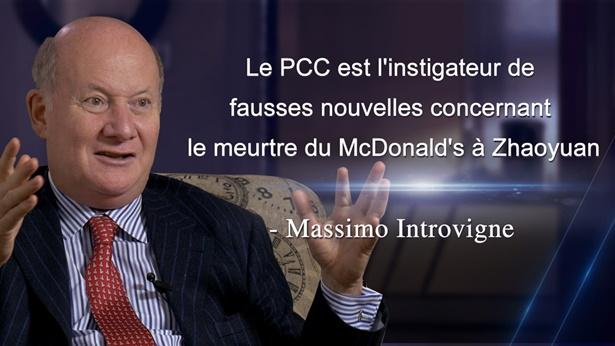 #2 Le PCC est l'instigateur de fausses nouvelles concernant le meurtre du McDonald's à Zhaoyuan - Massimo Introvigne
